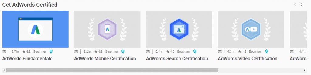 adwords analytics certified