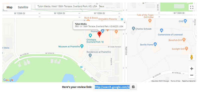google business review link tool