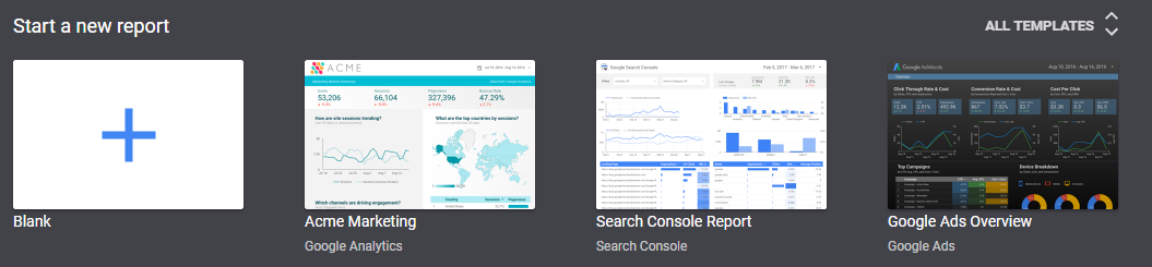 google data studio reports