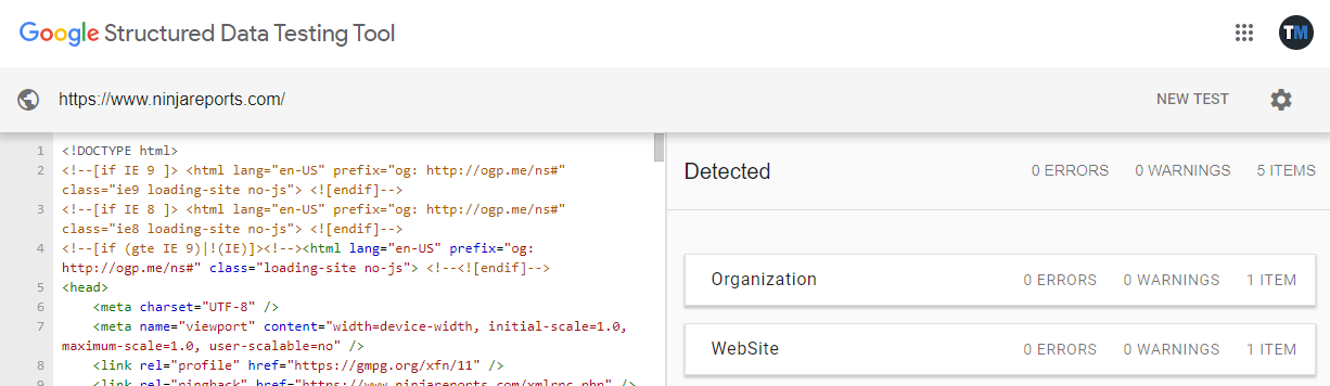 google structured data tool for seo