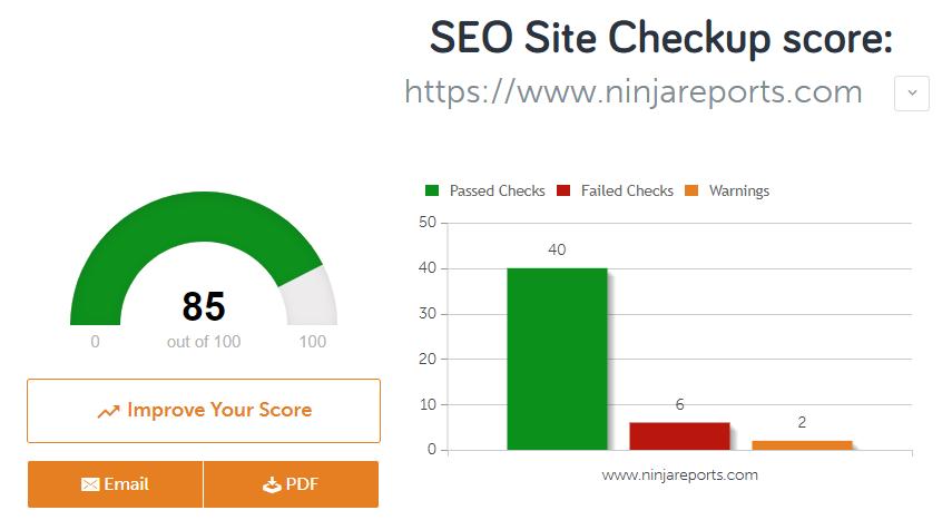 seo site checkup seo tool