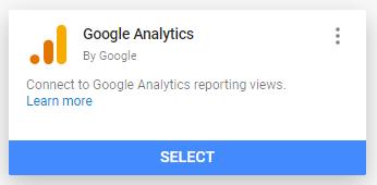 google analytics connector