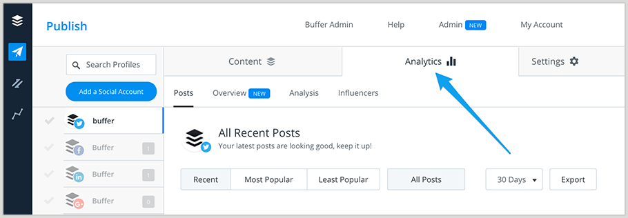 buffer analytics