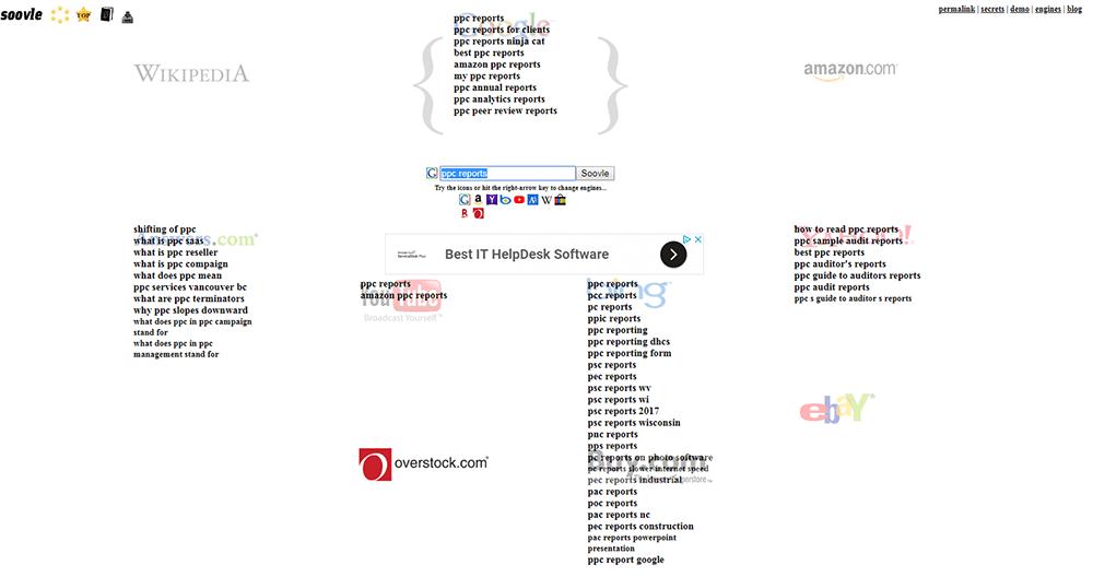 soovle keyword tool free