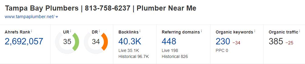 tampa bay plumbers DA