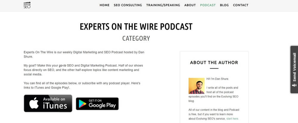 Experts on the wire - Dan Shure