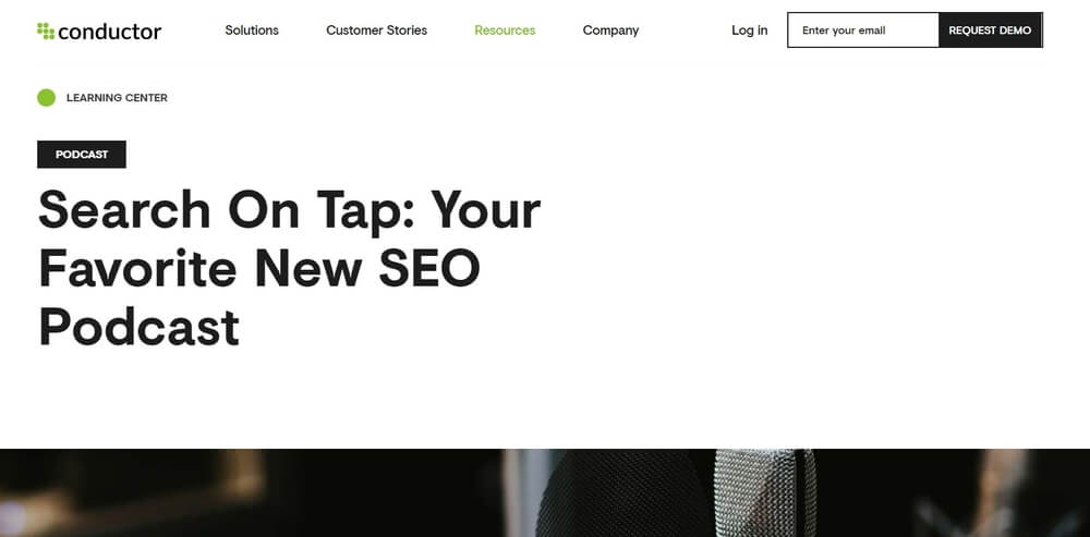 Search on Tap SEO podcast