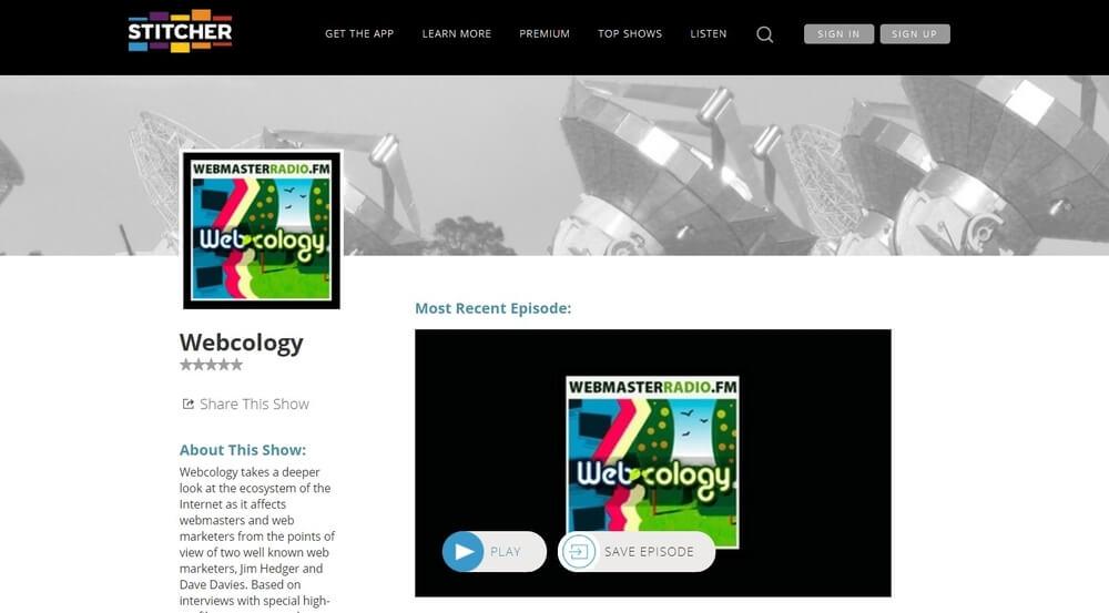 Webcology podcast