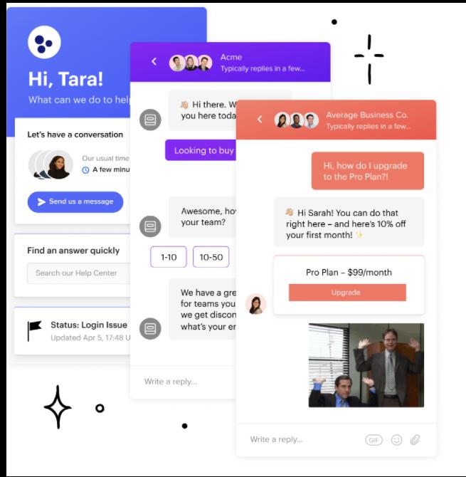 intercom-live-chat-software